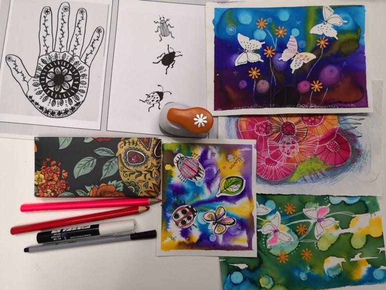 kursus kunst og design