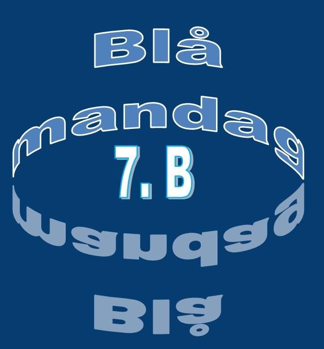 blå mandag 7.b