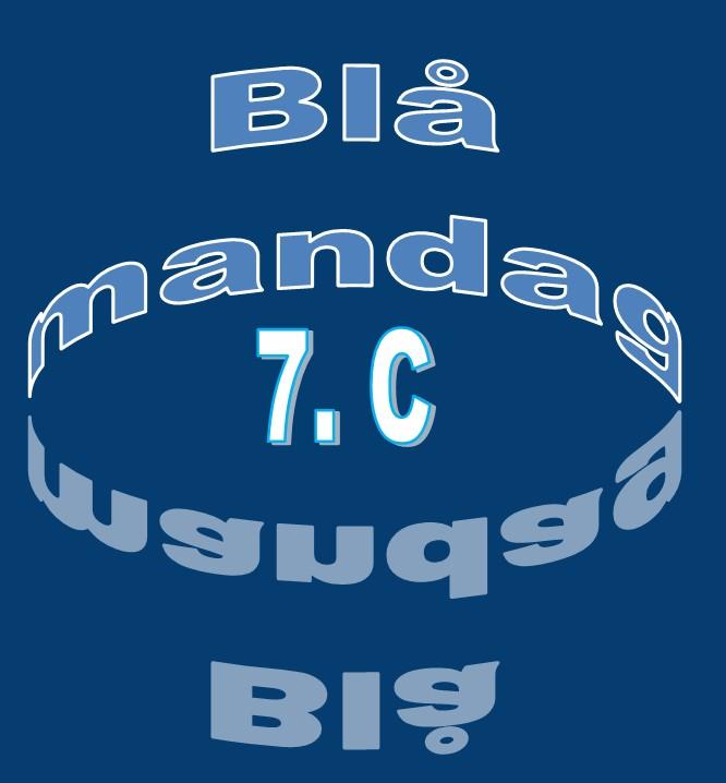 blå mandag 7.c