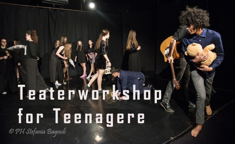 Teaterworkshop for teenagere.